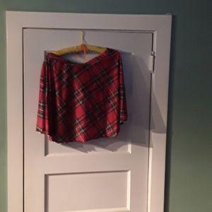Dresses & Skirts - Tartan mini skirt
